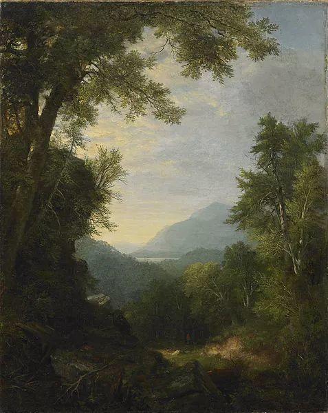 """杜兰德——他经常被称为""""美国风景画之父""""插图23"""