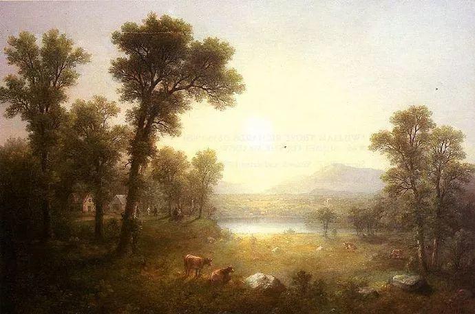 """杜兰德——他经常被称为""""美国风景画之父""""插图31"""