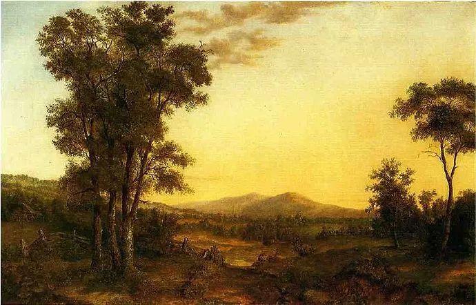 """杜兰德——他经常被称为""""美国风景画之父""""插图32"""