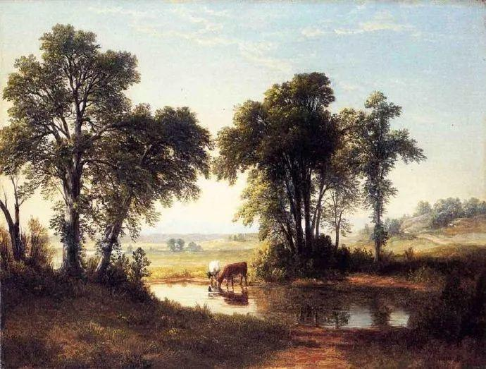 """杜兰德——他经常被称为""""美国风景画之父""""插图33"""