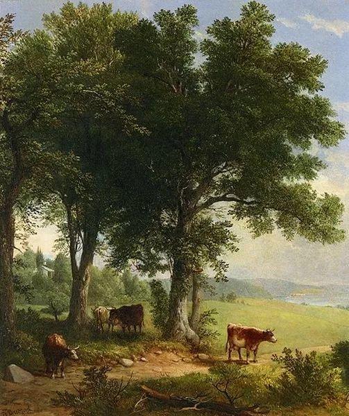 """杜兰德——他经常被称为""""美国风景画之父""""插图34"""