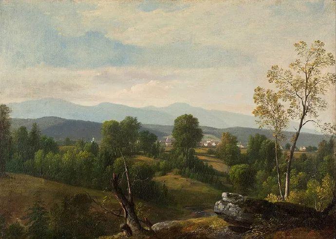 """杜兰德——他经常被称为""""美国风景画之父""""插图36"""