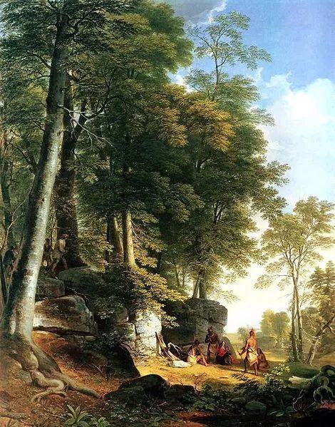 """杜兰德——他经常被称为""""美国风景画之父""""插图39"""