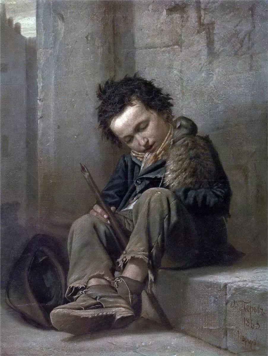 朴素的劳动人民,俄罗斯画家佩罗夫插图7