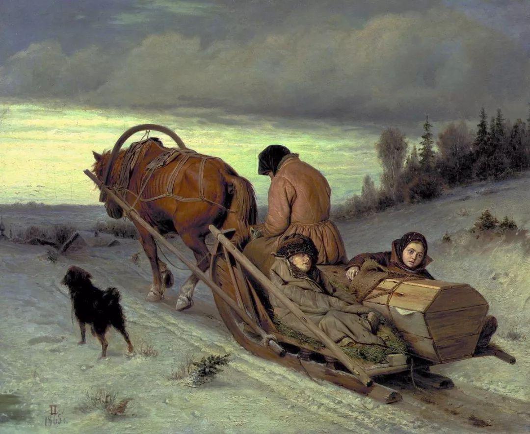 朴素的劳动人民,俄罗斯画家佩罗夫插图9
