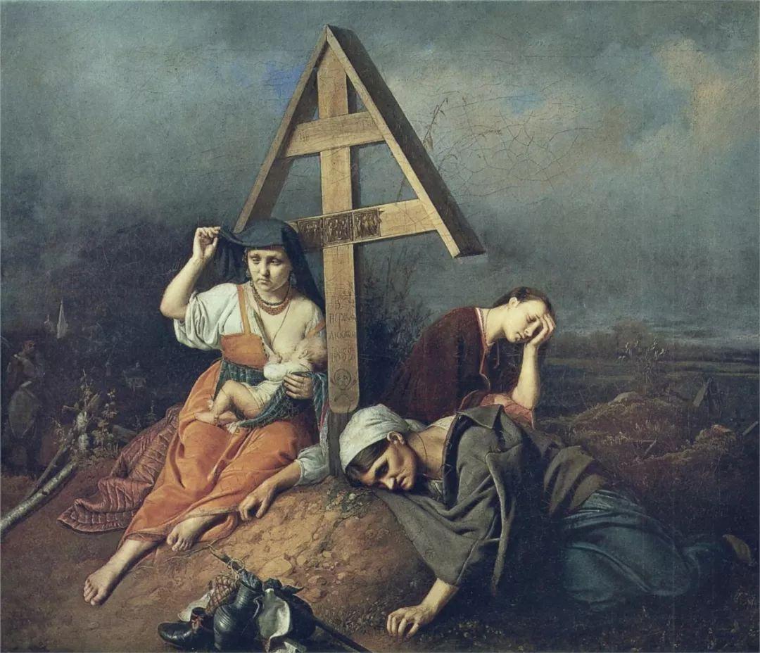 朴素的劳动人民,俄罗斯画家佩罗夫插图11