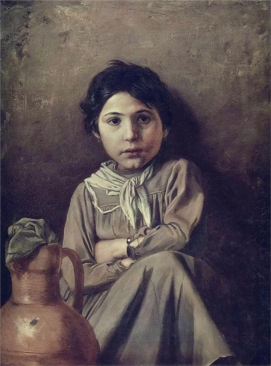 朴素的劳动人民,俄罗斯画家佩罗夫插图15