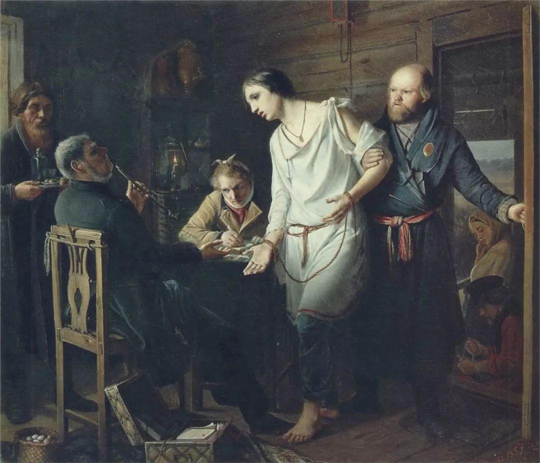 朴素的劳动人民,俄罗斯画家佩罗夫插图19