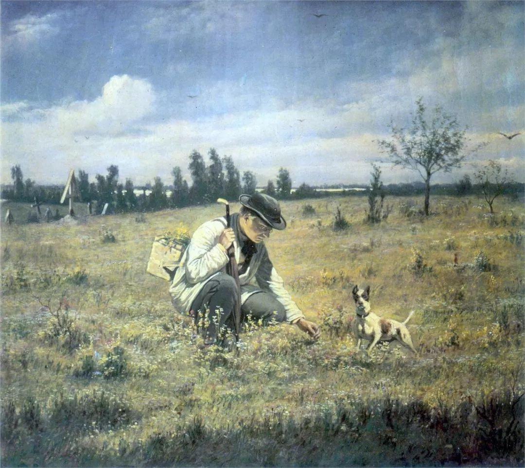 朴素的劳动人民,俄罗斯画家佩罗夫插图27