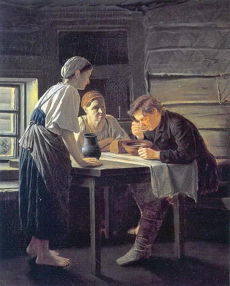 朴素的劳动人民,俄罗斯画家佩罗夫插图29