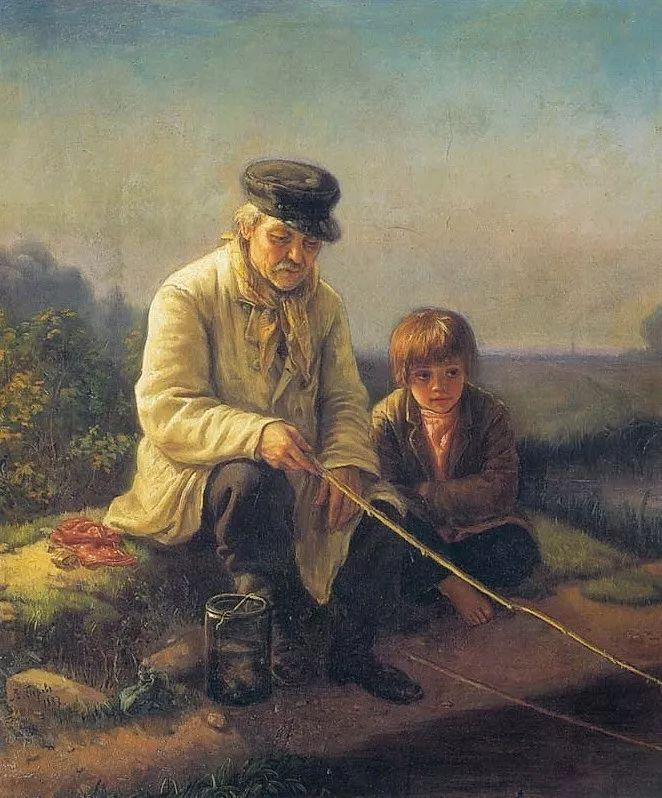 朴素的劳动人民,俄罗斯画家佩罗夫插图31