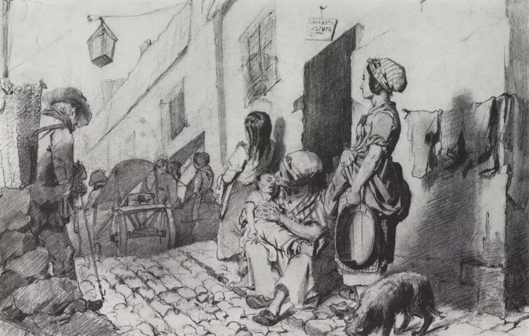 朴素的劳动人民,俄罗斯画家佩罗夫插图35