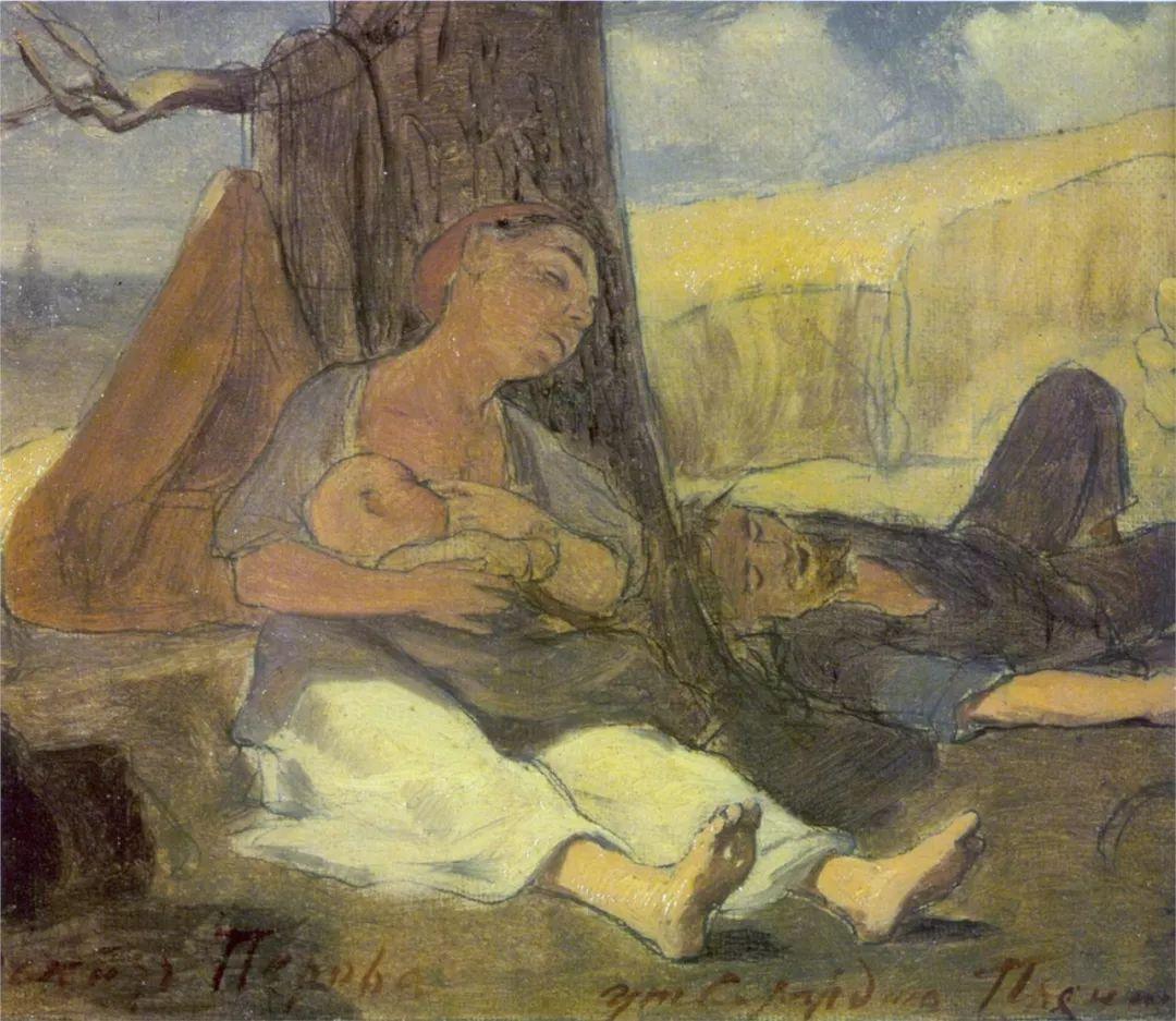 朴素的劳动人民,俄罗斯画家佩罗夫插图41