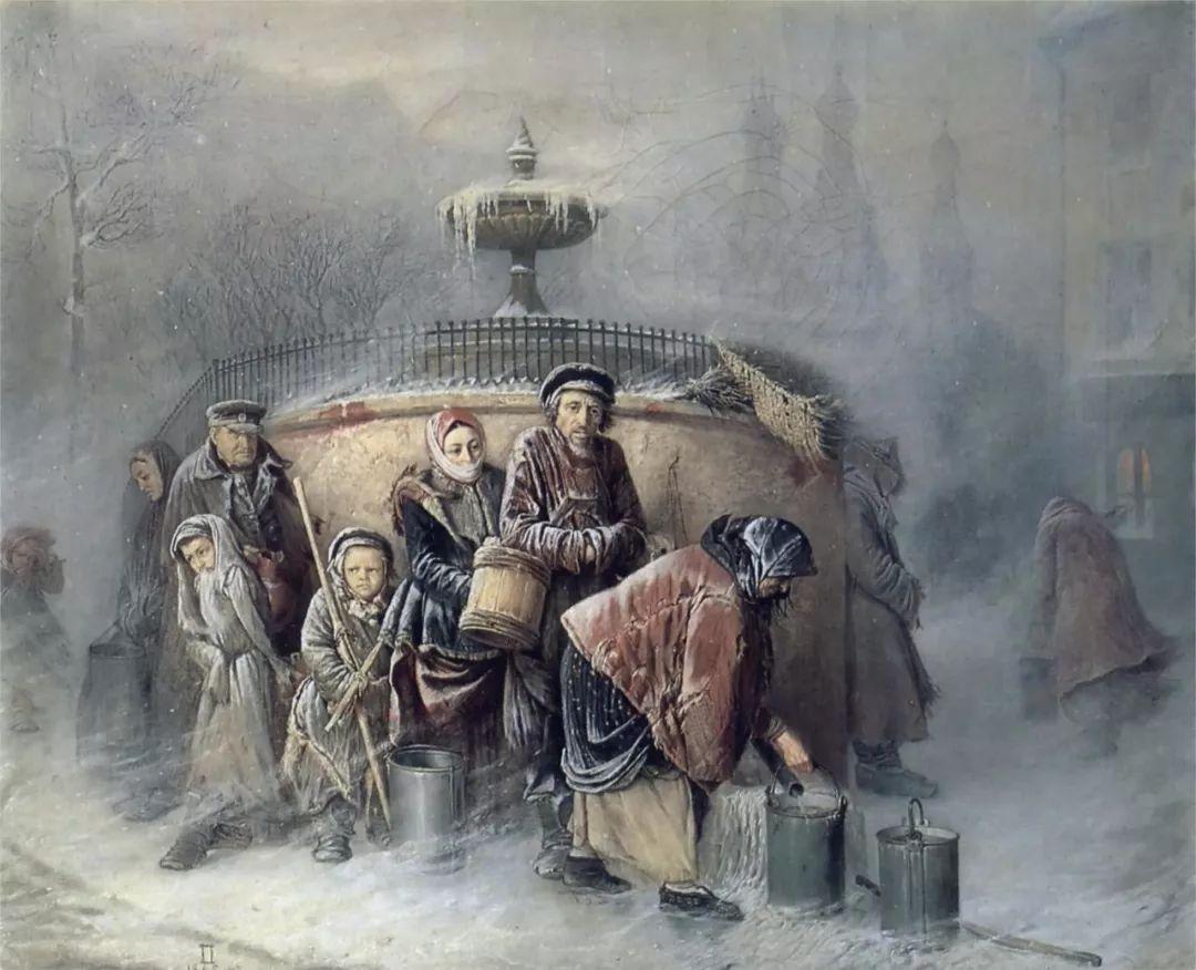 朴素的劳动人民,俄罗斯画家佩罗夫插图43