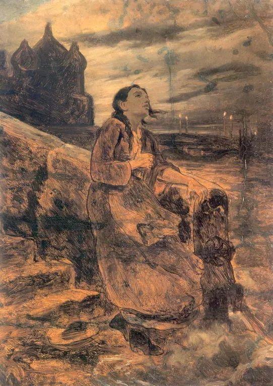 朴素的劳动人民,俄罗斯画家佩罗夫插图45