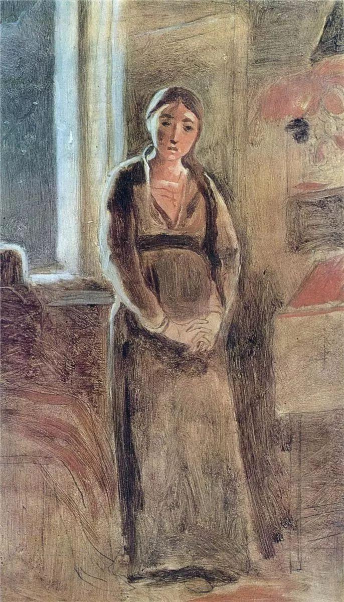 朴素的劳动人民,俄罗斯画家佩罗夫插图47