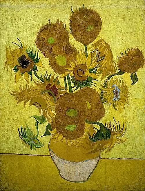 """世人皆知梵高的向日葵,可能不知还有"""" 它们 """"插图"""