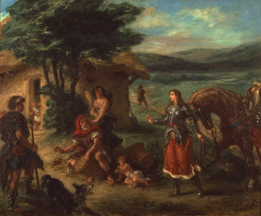 """他被称为""""浪漫主义的狮子"""",大师手稿与创作123幅插图32"""