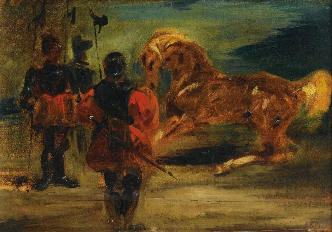 """他被称为""""浪漫主义的狮子"""",大师手稿与创作123幅插图74"""