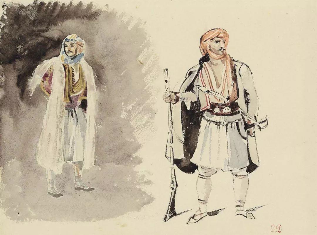 """他被称为""""浪漫主义的狮子"""",大师手稿与创作123幅插图101"""