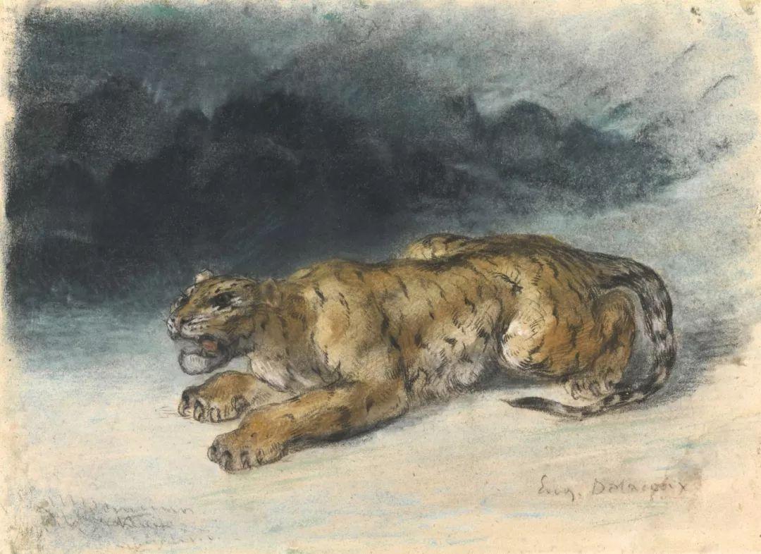 """他被称为""""浪漫主义的狮子"""",大师手稿与创作123幅插图102"""