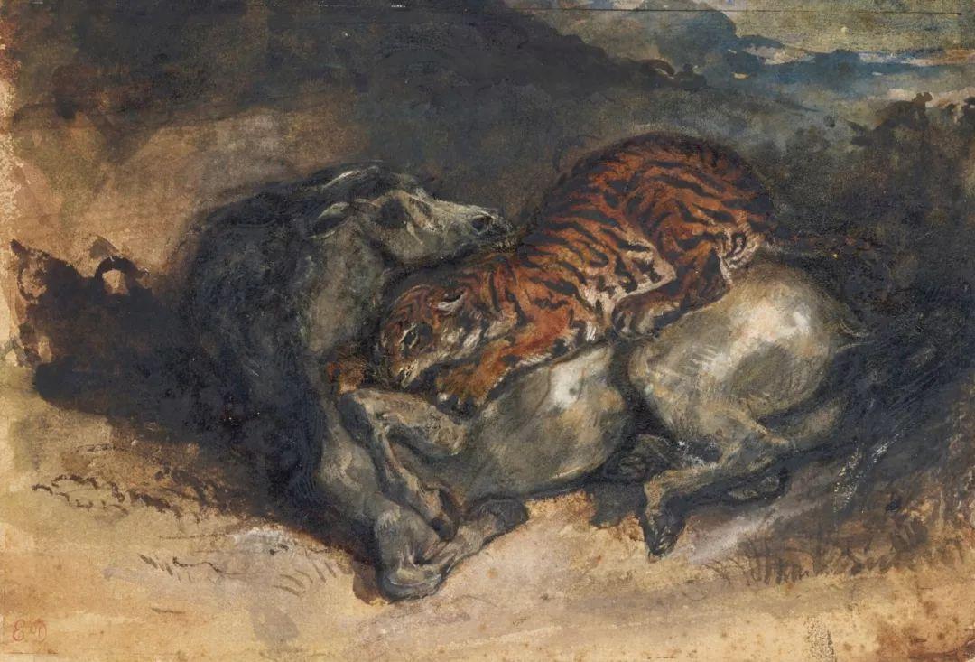 """他被称为""""浪漫主义的狮子"""",大师手稿与创作123幅插图103"""