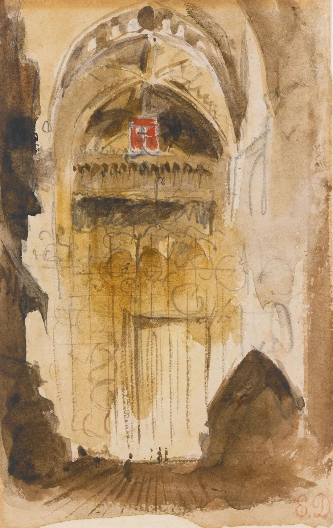 """他被称为""""浪漫主义的狮子"""",大师手稿与创作123幅插图104"""