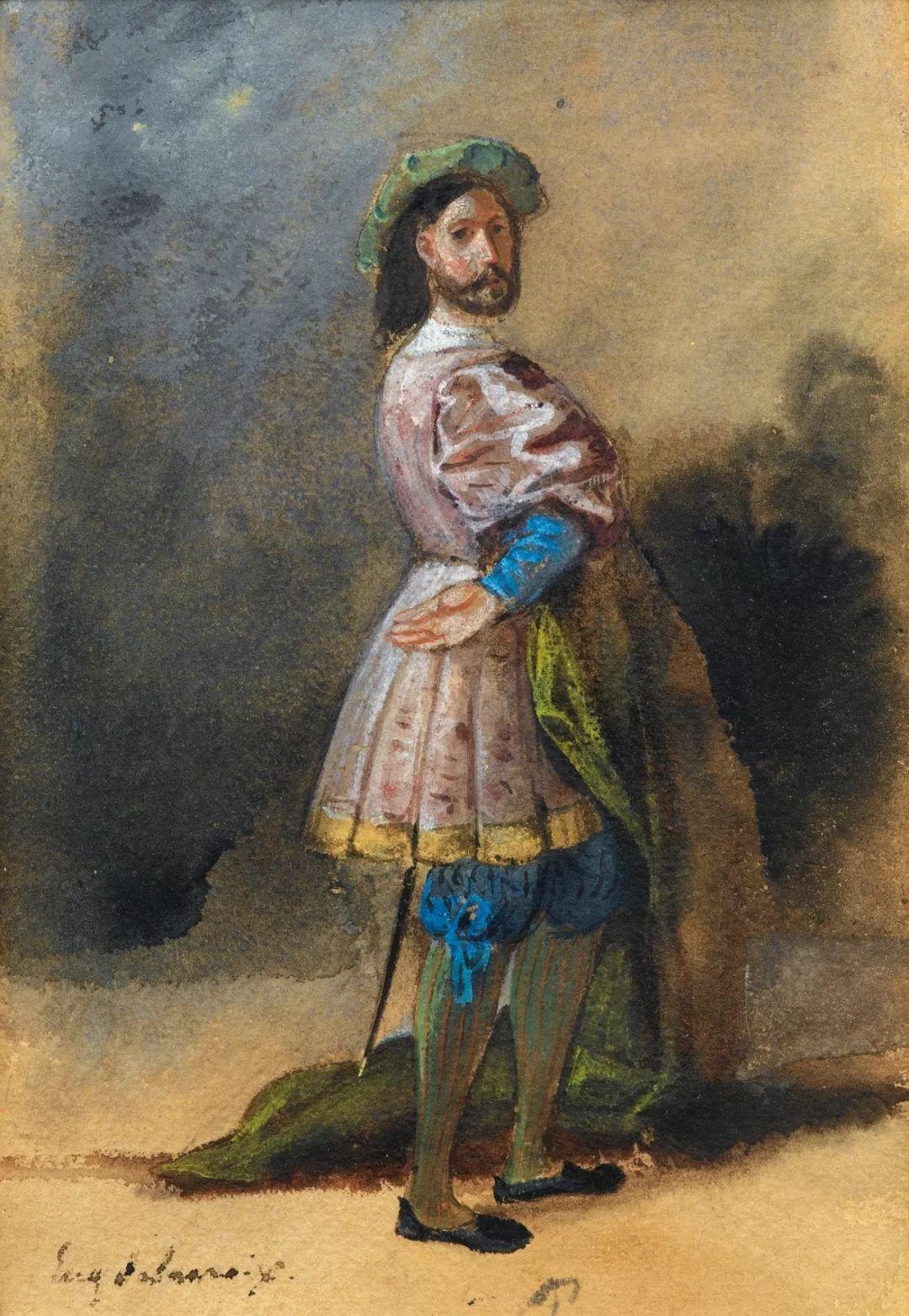 """他被称为""""浪漫主义的狮子"""",大师手稿与创作123幅插图105"""