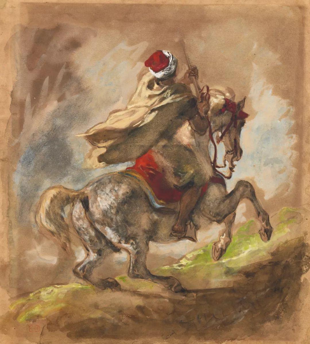 """他被称为""""浪漫主义的狮子"""",大师手稿与创作123幅插图107"""