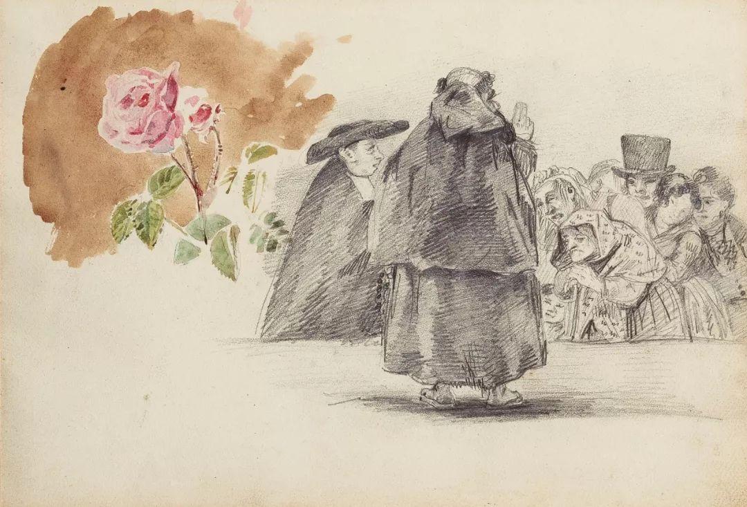 """他被称为""""浪漫主义的狮子"""",大师手稿与创作123幅插图108"""