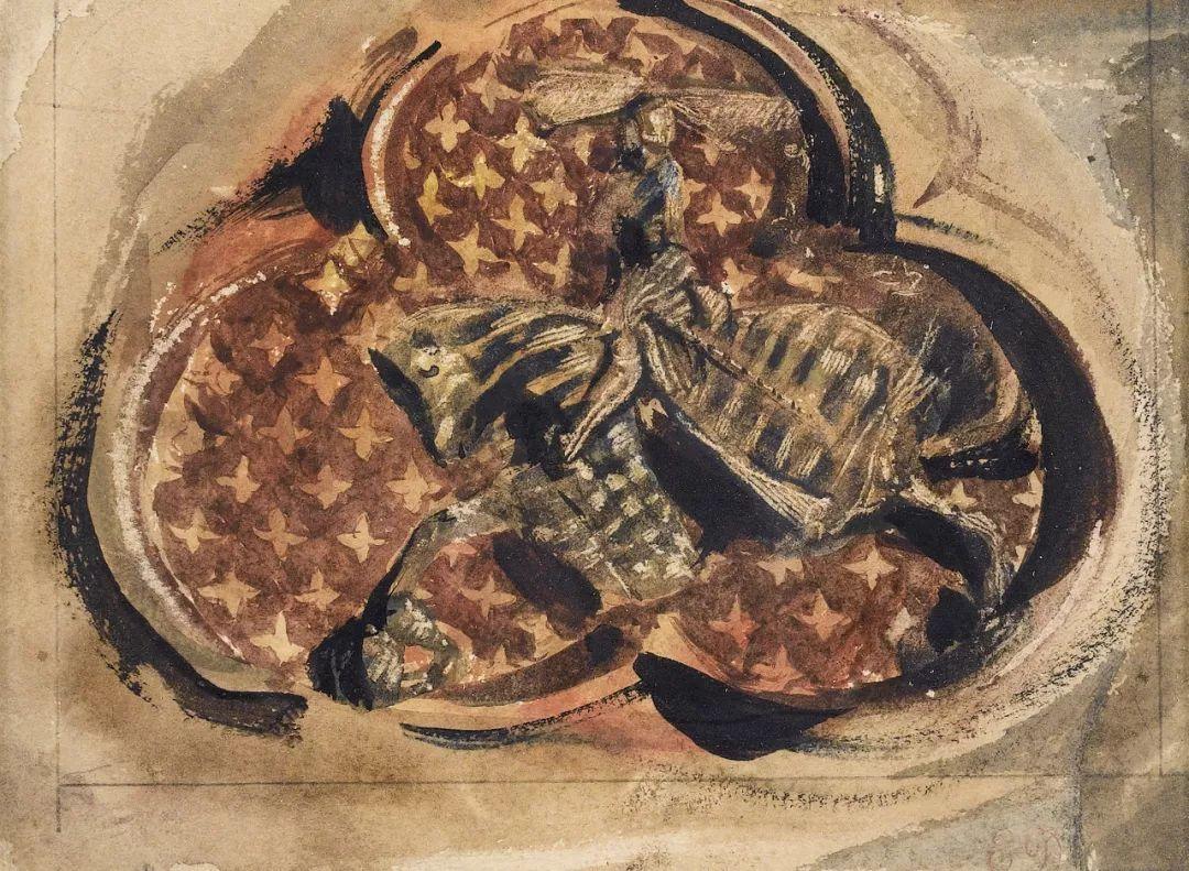 """他被称为""""浪漫主义的狮子"""",大师手稿与创作123幅插图110"""