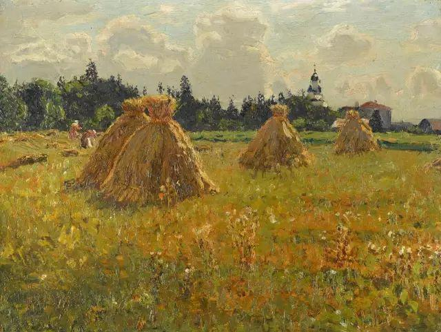 风景油画 俄罗斯画家杜波夫斯科伊作品欣赏插图