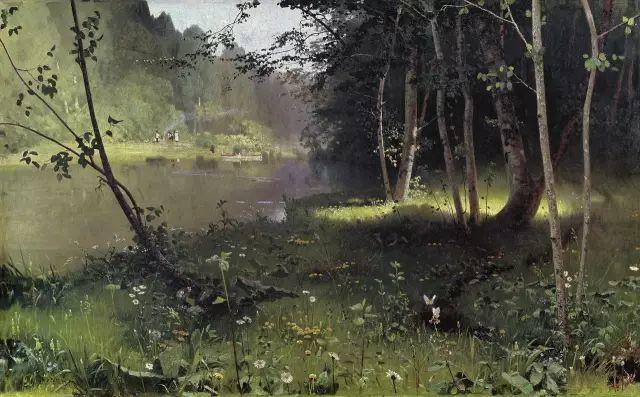 风景油画 俄罗斯画家杜波夫斯科伊作品欣赏插图2