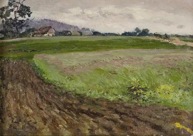 风景油画 俄罗斯画家杜波夫斯科伊作品欣赏插图4