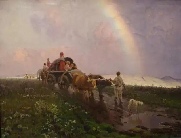 风景油画 俄罗斯画家杜波夫斯科伊作品欣赏插图6