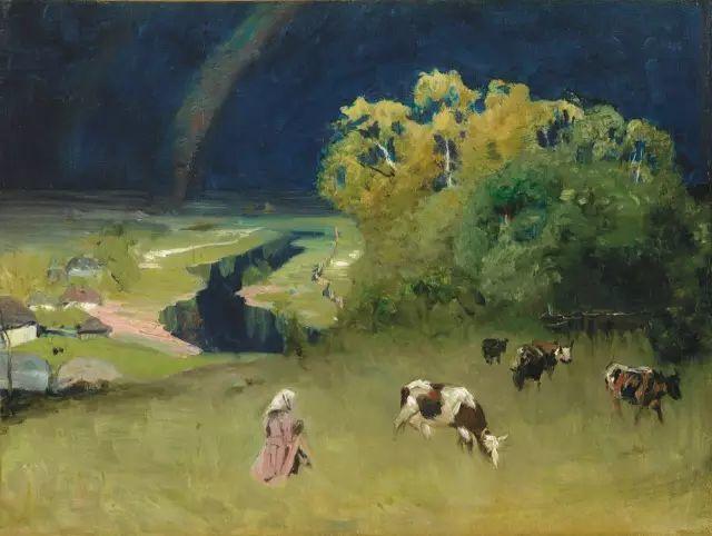 风景油画 俄罗斯画家杜波夫斯科伊作品欣赏插图7
