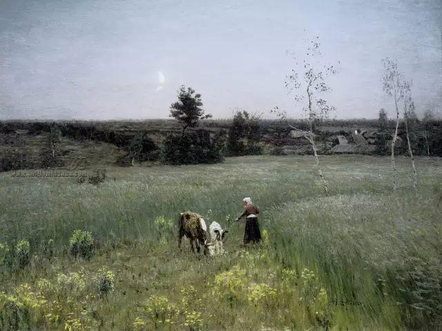 风景油画 俄罗斯画家杜波夫斯科伊作品欣赏插图9