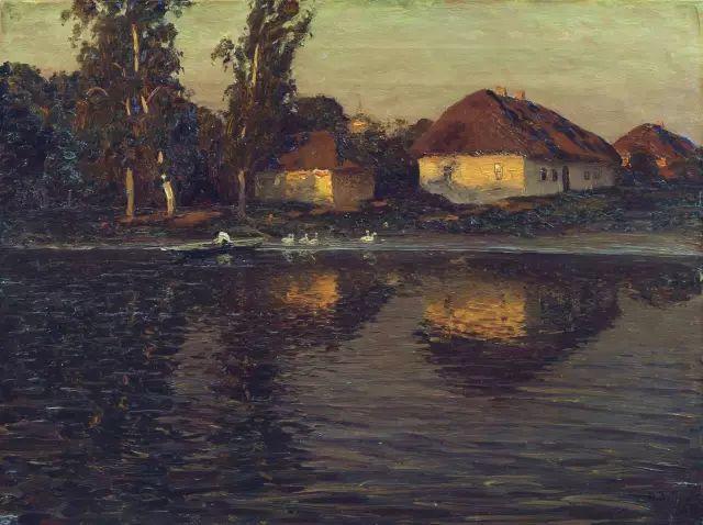 风景油画 俄罗斯画家杜波夫斯科伊作品欣赏插图11