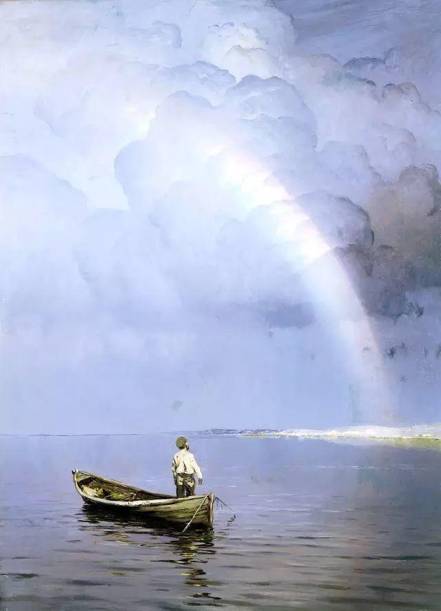 风景油画 俄罗斯画家杜波夫斯科伊作品欣赏插图19