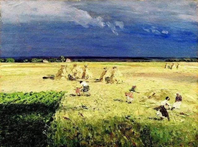 风景油画 俄罗斯画家杜波夫斯科伊作品欣赏插图20