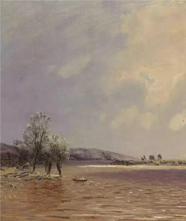 风景油画 俄罗斯画家杜波夫斯科伊作品欣赏插图22