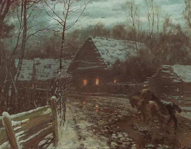 风景油画 俄罗斯画家杜波夫斯科伊作品欣赏插图23