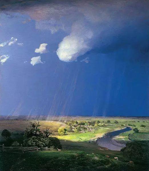 风景油画 俄罗斯画家杜波夫斯科伊作品欣赏插图25