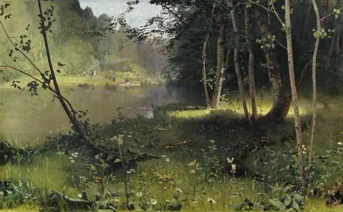 风景油画 俄罗斯画家杜波夫斯科伊作品欣赏插图28