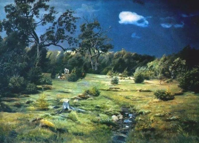 风景油画 俄罗斯画家杜波夫斯科伊作品欣赏插图29