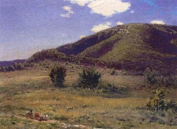 风景油画 俄罗斯画家杜波夫斯科伊作品欣赏插图31