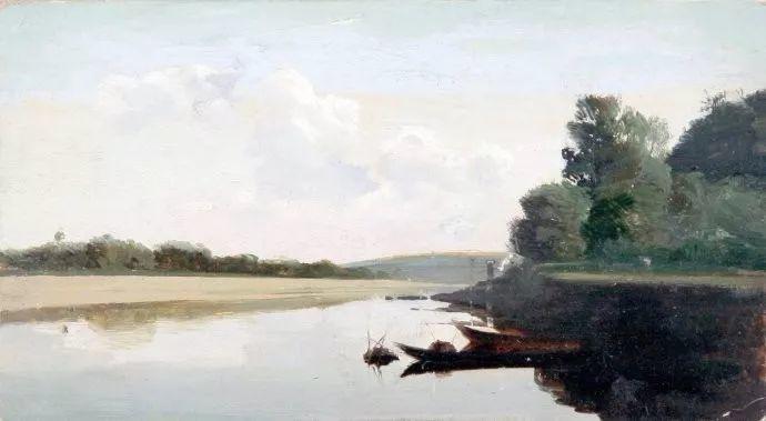 风景油画 俄罗斯画家杜波夫斯科伊作品欣赏插图33