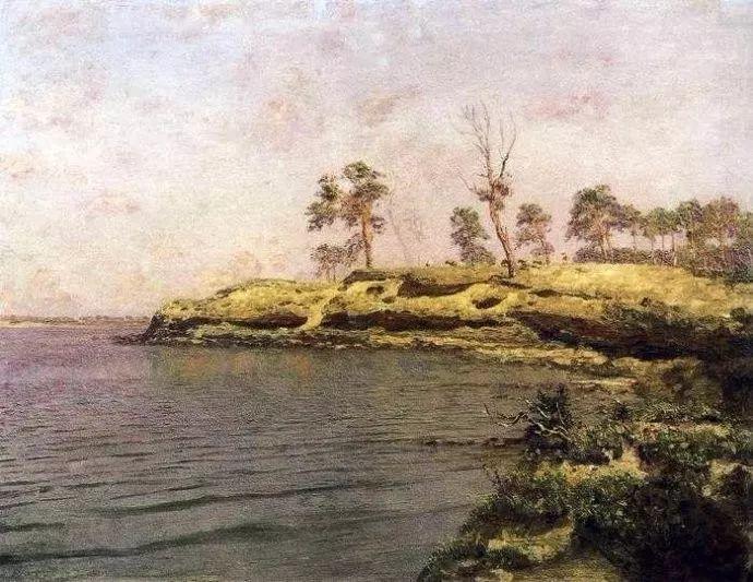 风景油画 俄罗斯画家杜波夫斯科伊作品欣赏插图34