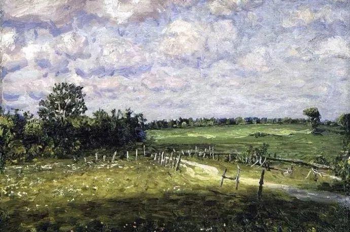 风景油画 俄罗斯画家杜波夫斯科伊作品欣赏插图36