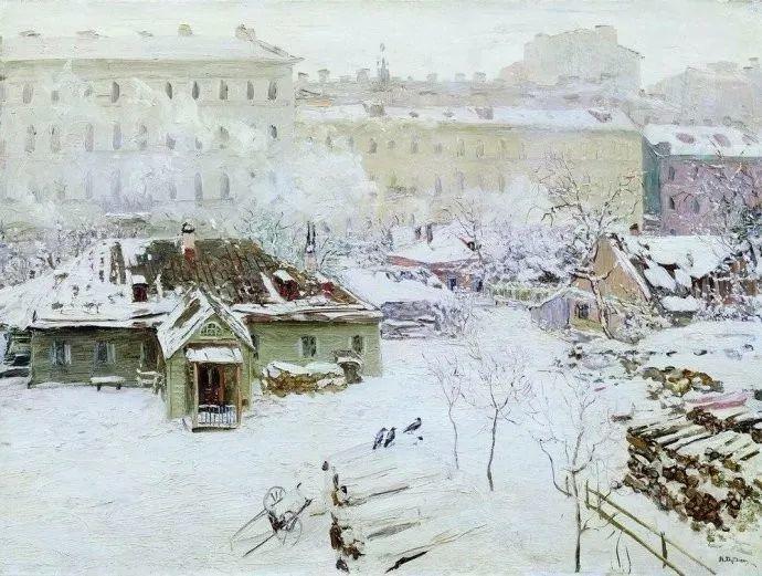 风景油画 俄罗斯画家杜波夫斯科伊作品欣赏插图37